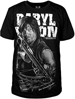 SIDNOR Cosplay The Walking Dead Daryl Dixon T-Shirt