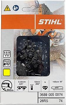Oregon L74 ControlCut 18-Inch Chainsaw Chain Fits Stihl 18inch .063 .325 74 Link