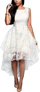 821 - Plus Size Sleeveless Multi Layer High Low Bridal Wedding Dress