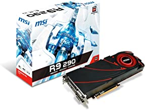 MSI AMD Radeon R9 290 4GB GDDR5 2DVI/HDMI/DisplayPort PCI-Express Video Card