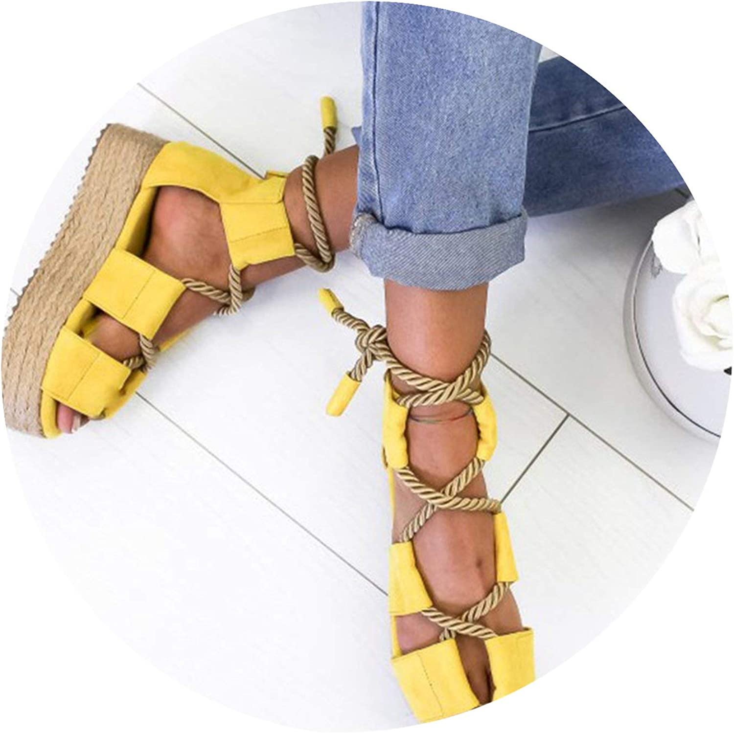Summer Women Sandals Beach shoes Wedge shoes High Heel Comfortable Platform Sandals