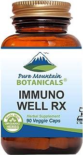 Sponsored Ad - Immuno Well RX - 90 Kosher Caps Now with Organic Astragalus Echinacea Garlic Maitake Shiitake Mushroom Hone...