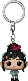Funko 33423 Pop Keychain: Wreck-It Ralph 2 - Vanellope Collectible Figure, Multicolor