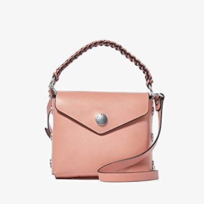 rag & bone Micro Atlas Crossbody (Dusty Pink) Handbags