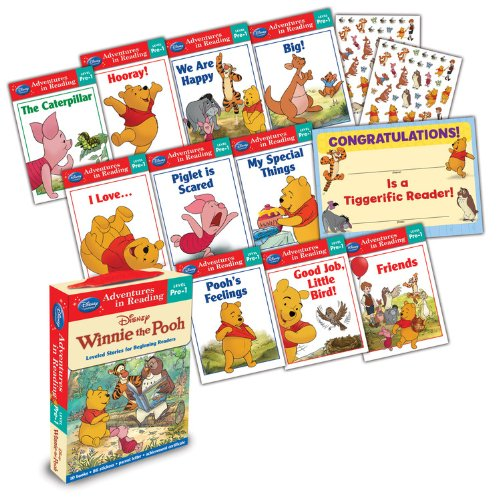 Winnie the Pooh Adventures in Reading Winnie the Pooh Level Pre-1 Boxed Set (Reading Adventures)