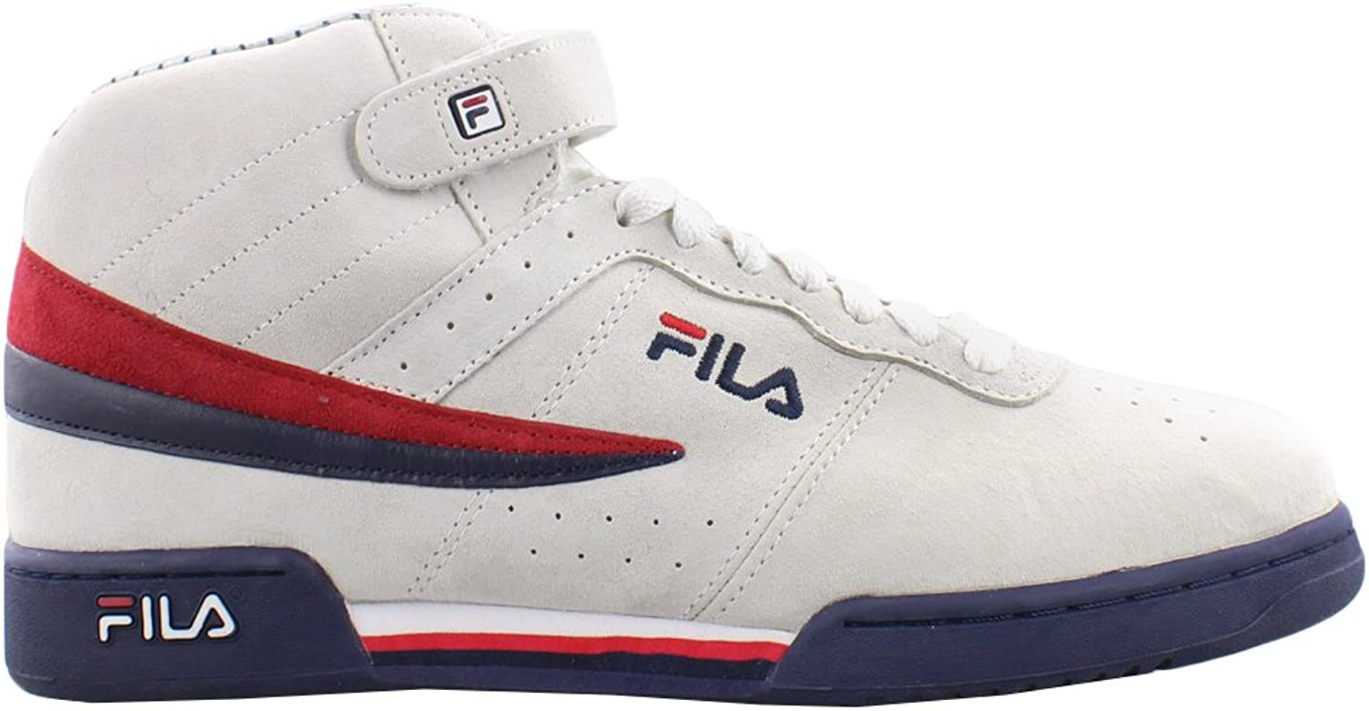 Fila Mens F-13 PS Suede Padded Insole Fashion Sneakers