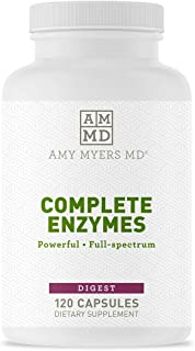 Sponsored Ad - Dr. Amy Myers Digestive Enzymes Capsules – 19 Enzymes to Support Gut Health, Bloating & Gas Relief - Amylas...