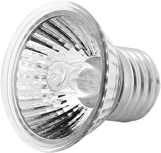 Dooti両生類ライト 両生類用保温球 爬虫類照明 UVA/UVBヒーターランプ 生息地照明 水族館用 25W/50W/75W E27(50W)