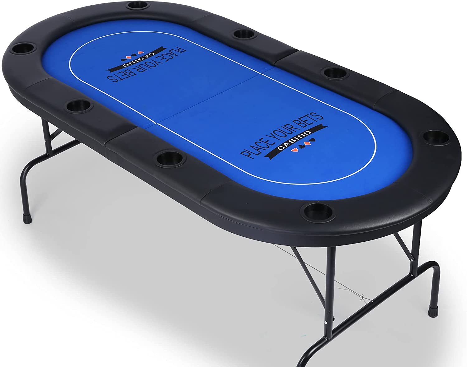 Vilobos Poker Table Texas Holdem Game Casino Players Low price for 8 Popular