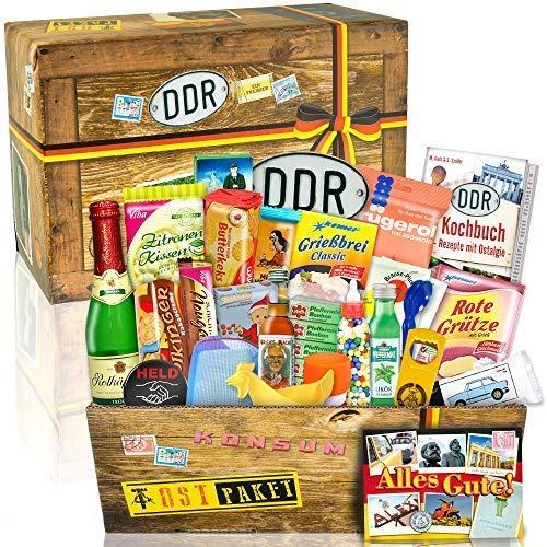 Geschenk Box aus der DDR 24tlg. / Ballon Happy Birthday / DDR Waren / Ost Box