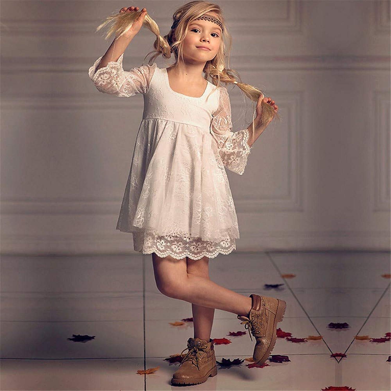 子供の女の子のドレス 女の赤ちゃん誕生日洗礼ドレス洗礼ウェディングパーティーフラワードレス2-13歳 女の子のパーティーウェディングブライドメイドの王女のドレス (サイズ : 4-5T)