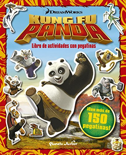Kung Fu Panda. Libro de actividades con pegatinas: ¡Con más de 150 pegatinas! (Dreamworks. Kung Fu Panda)