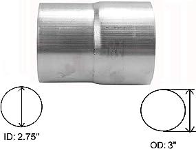 "yjracing Universal 2.75 ""ID تا 3"" OD اگزوز لوله آداپتور اتصال دهنده کاهش دهنده استنلس استیل"