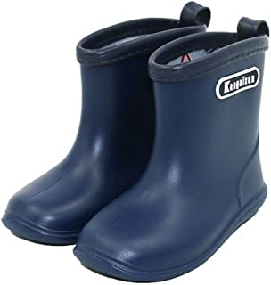 Kids Rain Boots Children Waterproof Shoes for Boys Girls (1-6 Years)