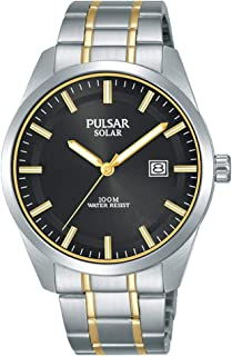 Pulsar Men's Analogue Analog Quartz Watch with Stainless Steel Strap PX3169X1