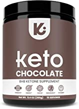 KEPPI Exogenous Ketones Chocolate BHB Powder Supplement: BHB Chocolate Ketones Formulated to Increase Energy, Burn Fat, Ma...
