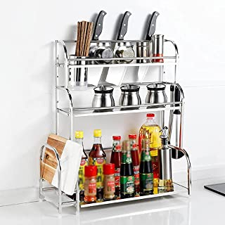 Xkun Panier de marché, boîte de rangement pour légumes, étagère rotative