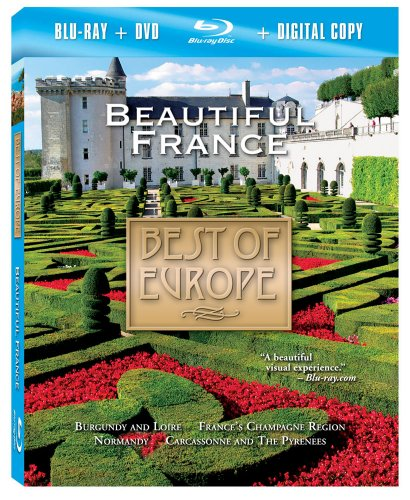 Price comparison product image Best of Europe: Beautiful France (Two-Disc Combo: Blu-ray / DVD / Digital Copy)
