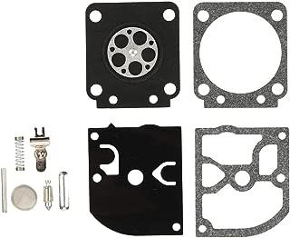 Kizut RB-129 Carburetor Rebuild Kit Repair Set for Zama C1M-W26 C1M-W26C C1M-W26B C1M-W26A C1M-W47 Poulan Chainsaw Parts P3314 PP4218AVX