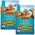 Zuke's Z-Bone Dental Chew Dog Treats, Apple, Large, 12 Chews