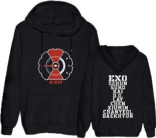 Kpop EXO Hoodie Merchandise Chanyeol Baekhyun Chen Kai Sehun Lay Sweatershirt Merch