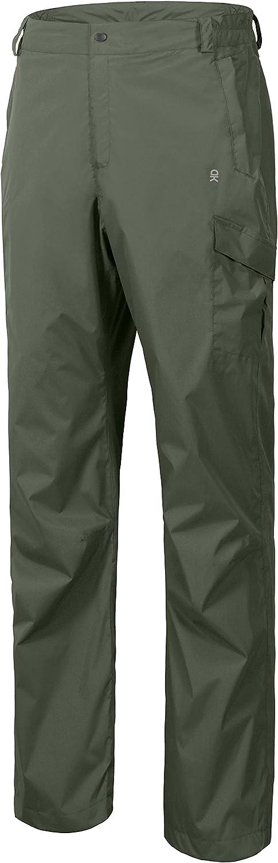 Little Donkey Andy Men's Lightweight Waterproof Rain Pants Breathable Golf Hiking Pants : Sports & Outdoors