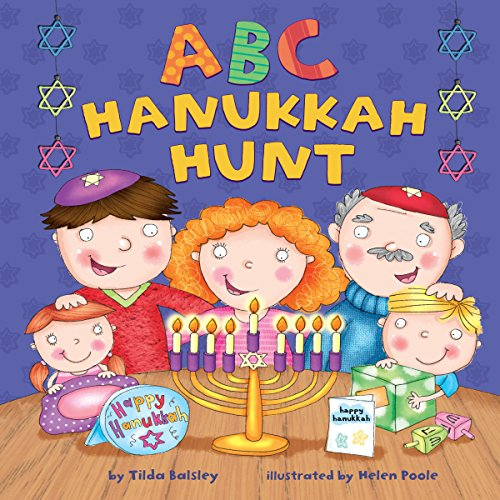 ABC Hanukkah Hunt                   By:                                                                                                                                 Tilda Balsley                               Narrated by:                                                                                                                                 Intuitive                      Length: 2 mins     1 rating     Overall 1.0