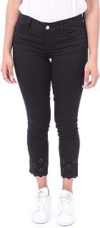 LIUJO BLUE DENIM Pantalone PANTAL.B.UP New Ideal Reg. W. Donna Nero FA0203/T4033
