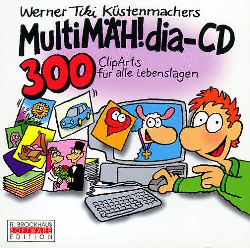 MultiMÄH!dia-CD, 1 CD-ROM300 ClipArts für alle Lebenslagen. Für Windows 3.1/95