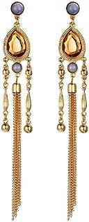 Bohemian Tassel Drop & Dangle Earrings - Gold