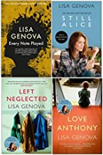 Lisa Genova 4 Books Collection Set (Every Note Played, Still Alice, Left Neglected, Love Anthony)