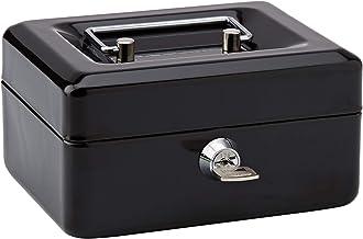 Rapesco SB0006B1 - Caja fuerte portátil con portamonedas