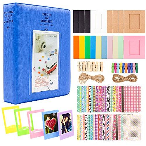 Ablus 2x3 Inch Photo Paper Film Album Set for Fujifilm Instax Mini Camera, Polaroid Snap, Z2300, SocialMatic Instant Cameras  Montana