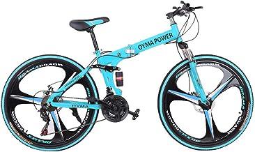 Bicicleta de montaña plegable Shimanos de 26 pulgadas, 21