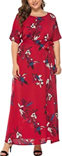 فستان لف مطبوع عليه أنثى النمر للنساء من اتيرناتيستيك مقاس كبير فساتين قصيرة الأكمام