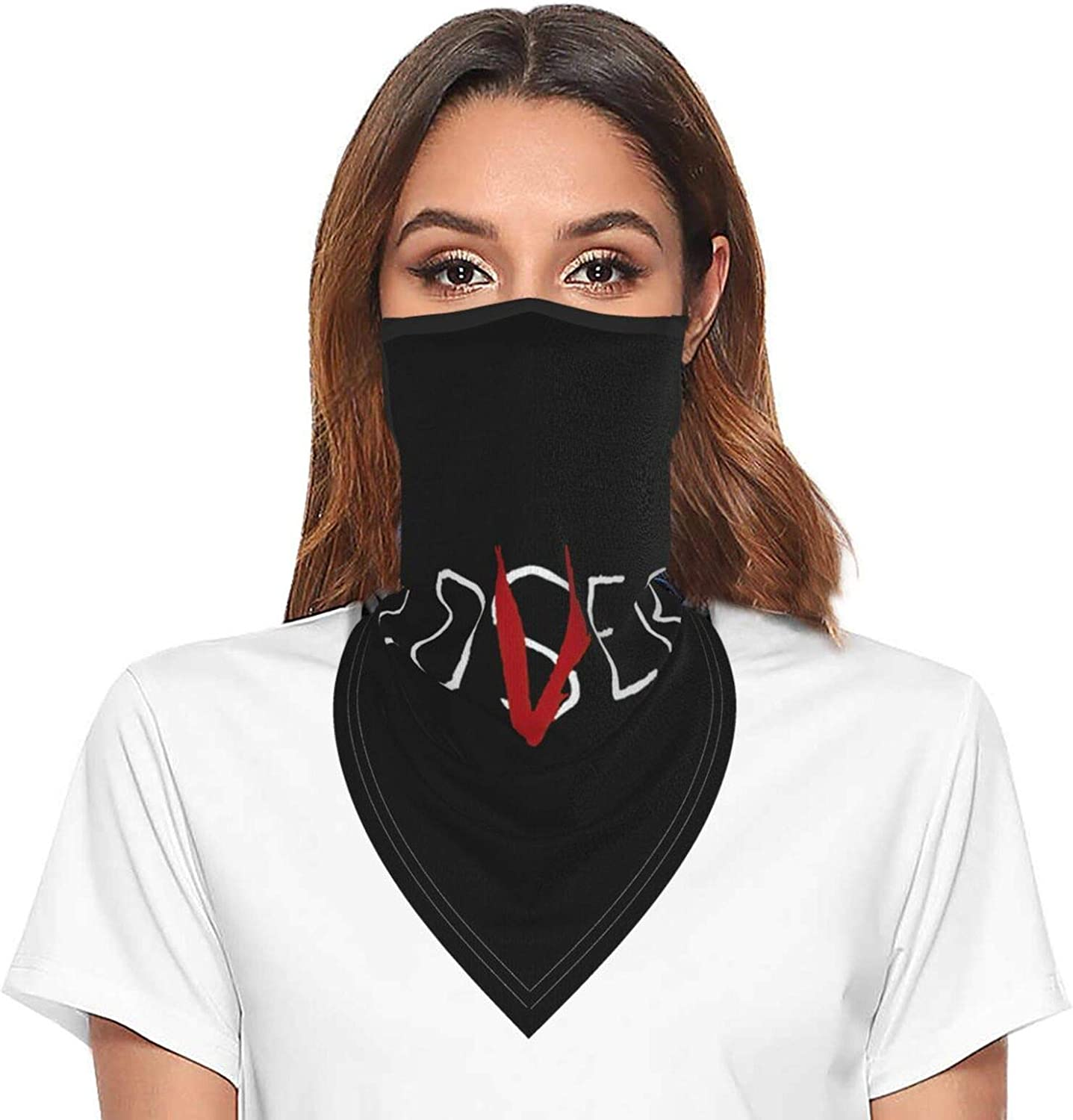 Loser Or Lover Neck Gaiter Face Mask With Ear Loops Outdoor Breathable Scarf For Men Women