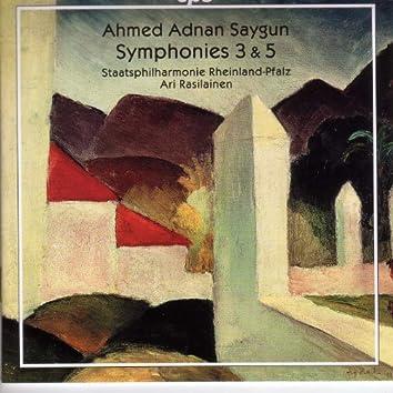 Saygun: Symphonies Nos. 3 and 5
