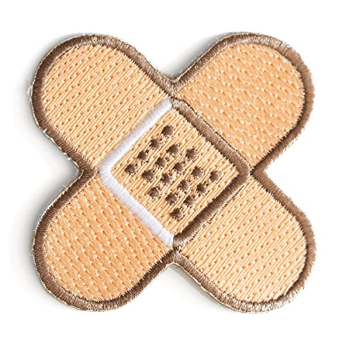 These Are Things Band-Aid Embroidered Iron On or Sew On Patch