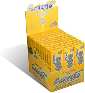 SMIZZLE Pre-Rolled Cones, King (110mm), 36 Packs of 3-Count in Retail POP Display Box