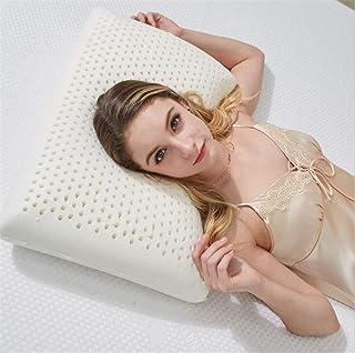 Gezhi Un par de Almohadas de látex Modelo de Almohada de látex Perforada súper Transpirable con jabón