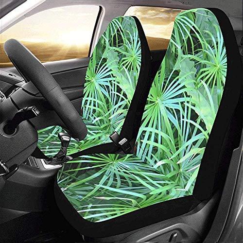 Outdoor Stoelhoezen Materiaal Tafelkleden Groen Bladeren Auto Stoelhoezen Beschermer Voertuig Reizen Auto Stoelhoezen