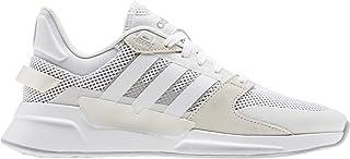Run 90S White/White/Gre Running Shoes (EE9870)