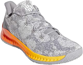 adidas Men's Harden B-E X Basketball CharcoalSolid Grey/Cloud White/Bold Gold
