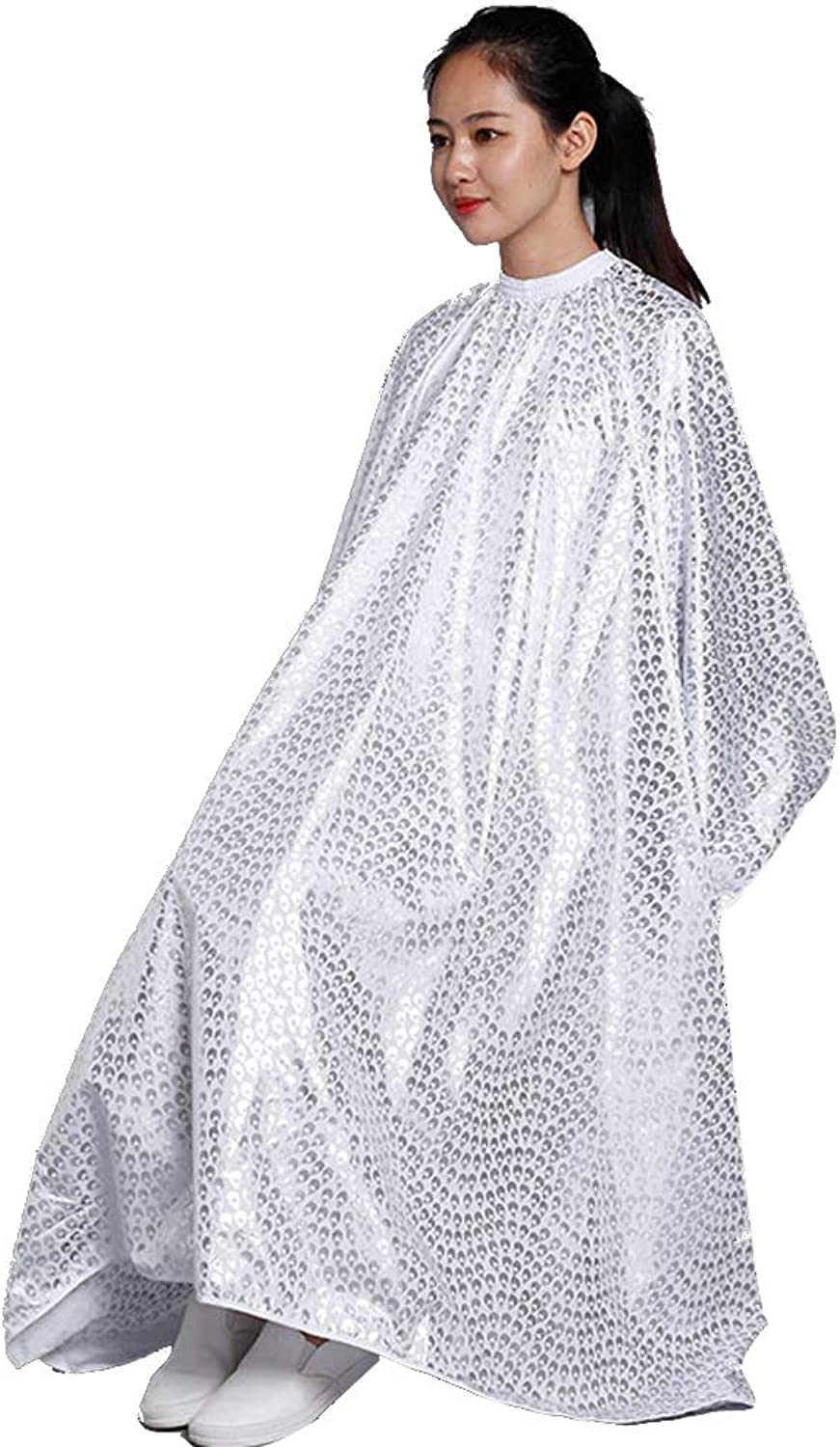 Full Length Cape Unisex Professional Hairdressers Gown for Hair Styling Cuts and Colours