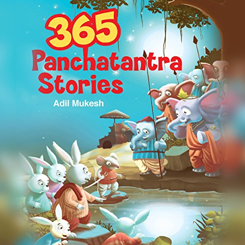 365 Panchatantra Stories audiobook cover art