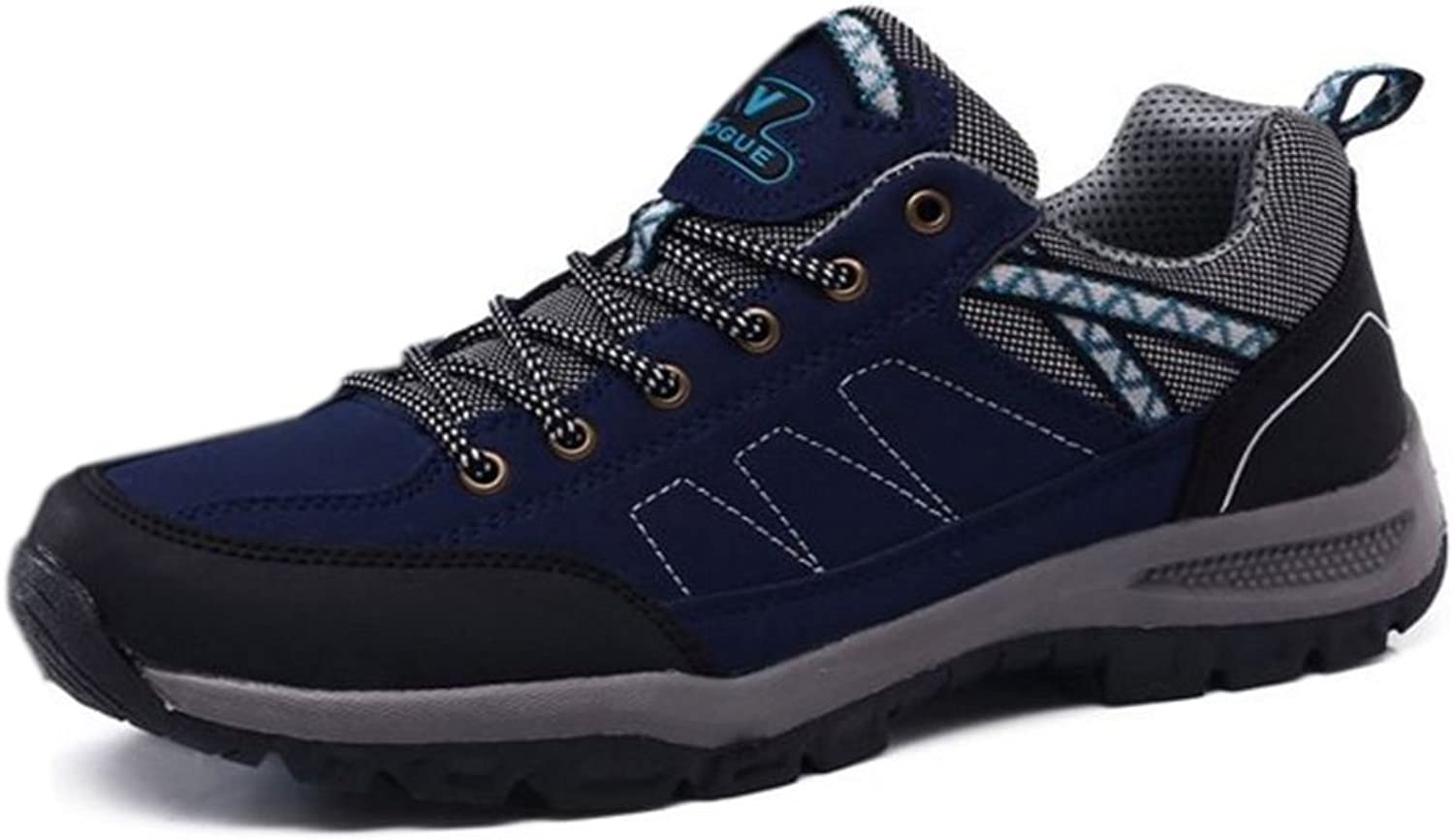 KemeKiss Men's Outdoor shoes lace Up Hiking Footwear