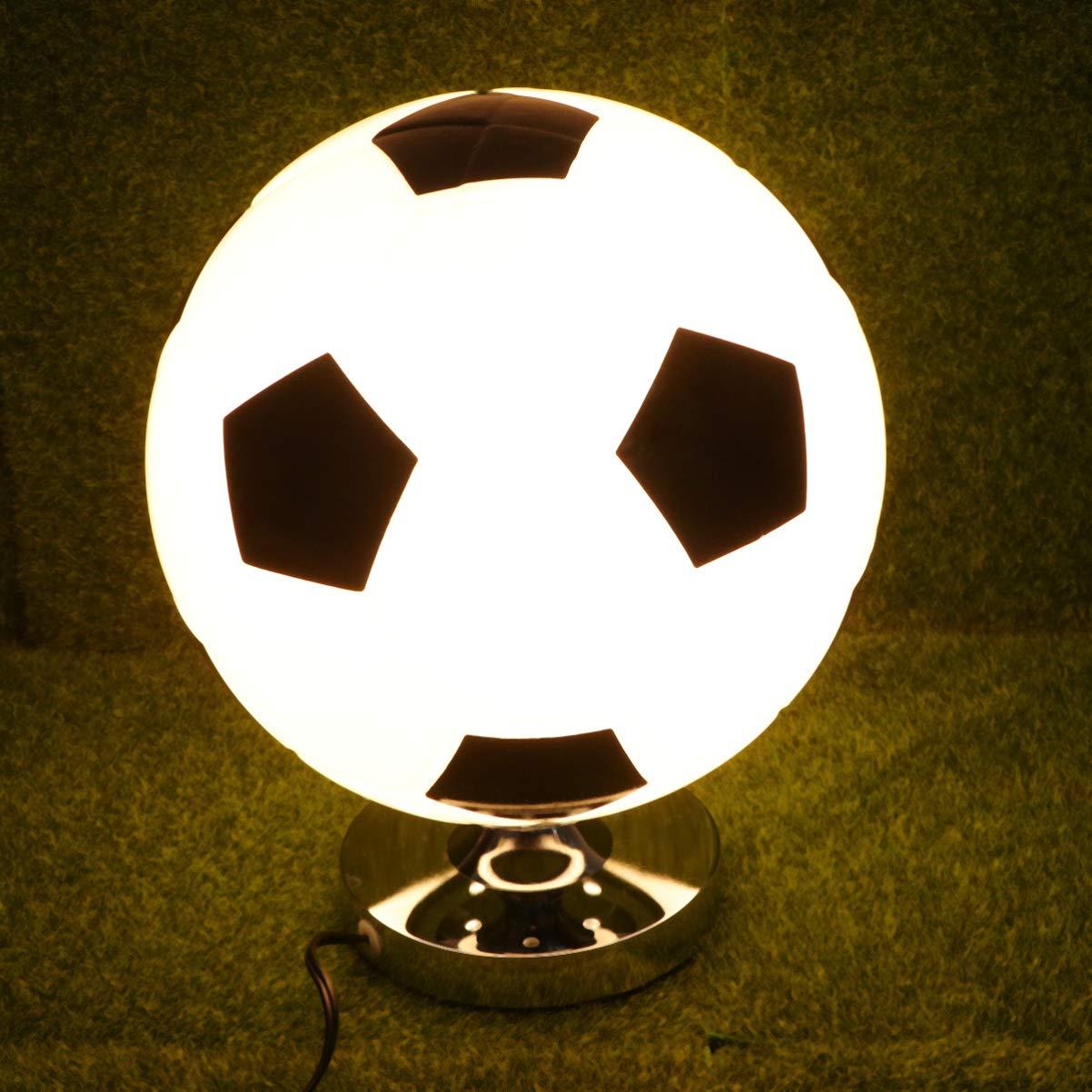 Mobestech fútbol tischlampe fútbol creativo nachttischlampe führte