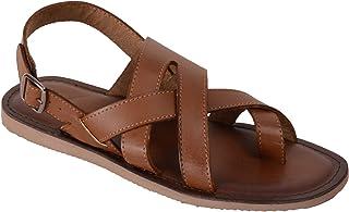 VONZO Men Tan Casual Sandal