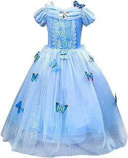 b719cb4387 Le SSara Filles de Noël' Princesse Cosplay Costumes Fantaisie Papillon Robe