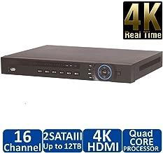 DiySecurityCameraWorld, NVR4216-4KS2 16 Channel Security Network Video Recorder Onvif 12M IP Camera NVR